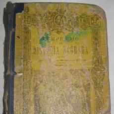 Libros de segunda mano: COMPENDIO DE HISTORIA SAGRADA 2º CURSO, DE BRUÑO. Lote 26110846