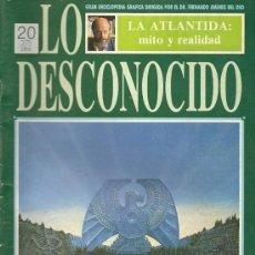 Libros de segunda mano: LA ATLANTIDA: MITO Y REALIDAD / DR. JIMENEZ DEL OSO. Lote 19760754