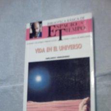 Libros de segunda mano: VIDA EN EL UNIVERSO DE ABELARDO HERNÁNDEZ (N.48 BIBLIOTECA BÁSICA ESPACIO Y TIEMPO). Lote 16446759