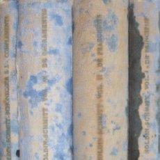 Libros de segunda mano: SUMMA THEOLOGIAE. 4 TOMOS (A/ RE- 051). Lote 3425713