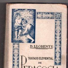 Libros de segunda mano: TRATADO ELEMENTAL DE PEDADOGIA CATEQUISTICA . EDITORIAL CASA MARTIN 5ª ED. VALLADOLID 1944. Lote 16512630