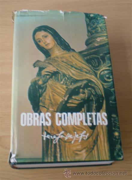 SANTA TERESA DE JESUS .. OBRAS COMPLETAS 1984 (Libros de Segunda Mano - Religión)