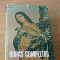 Libros de segunda mano: SANTA TERESA DE JESUS .. OBRAS COMPLETAS 1984. Lote 14868120