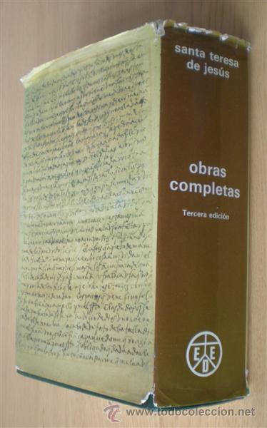 Libros de segunda mano: SANTA TERESA DE JESUS .. Obras completas 1984 - Foto 2 - 14868120