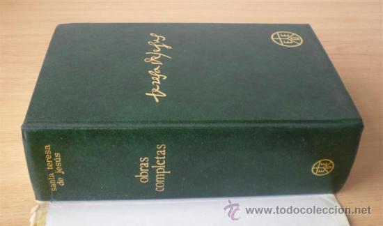 Libros de segunda mano: SANTA TERESA DE JESUS .. Obras completas 1984 - Foto 3 - 14868120