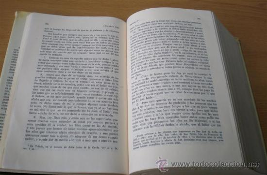 Libros de segunda mano: SANTA TERESA DE JESUS .. Obras completas 1984 - Foto 5 - 14868120