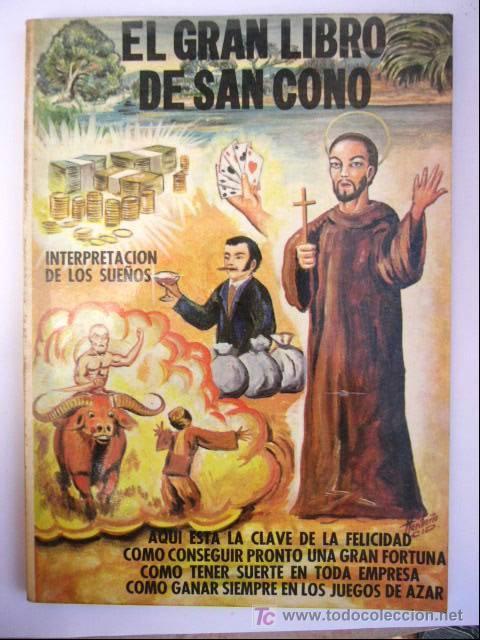 EL GRAN LIBRO DE SAN CONO. INTERPRETACION DE LOS SUEÑOS. ED. MEXICANOS, 1976. 160 PP. (Libros de Segunda Mano - Religión)