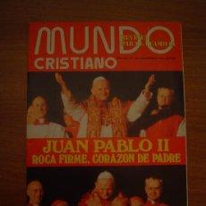 Libros de segunda mano: MUNDO CRISTIANO - REVISTA PARA LA FAMILIA -AÑO XVI. Nº 190.NOVIEMBRE 1978. Lote 15950672