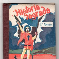 Libros de segunda mano: COMPENDIO DE HISTORIA SAGRADA ANTIGUO Y NUEVO TESTAMENTO. EDICIONES BRUÑO 13ª ED.MADRID 1954. Lote 18028786