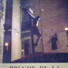Libros de segunda mano: LIBRO PREGÓN DE LA SEMANA SANTA DE SEVILLA DE 1974 DE RICARDO MENA BERNAL ROMERO. Lote 23658588