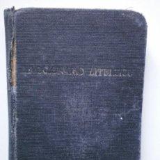 Libros de segunda mano: DEVOCIONARIO LITURGICO Y CANTICOS MAS USUALES. Lote 237578735