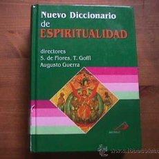 Libros de segunda mano: NUEVO DICCIONARIO DE ESPIRITUALIDAD, SAN PABLO, 2000. Lote 17523860
