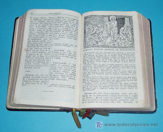 Libros de segunda mano: MISAL COMPLETO PARA LOS FIELES. V. MOLINA ( L06 ) - Foto 2 - 22801519