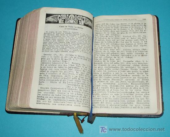 Libros de segunda mano: MISAL COMPLETO PARA LOS FIELES. V. MOLINA ( L06 ) - Foto 3 - 22801519