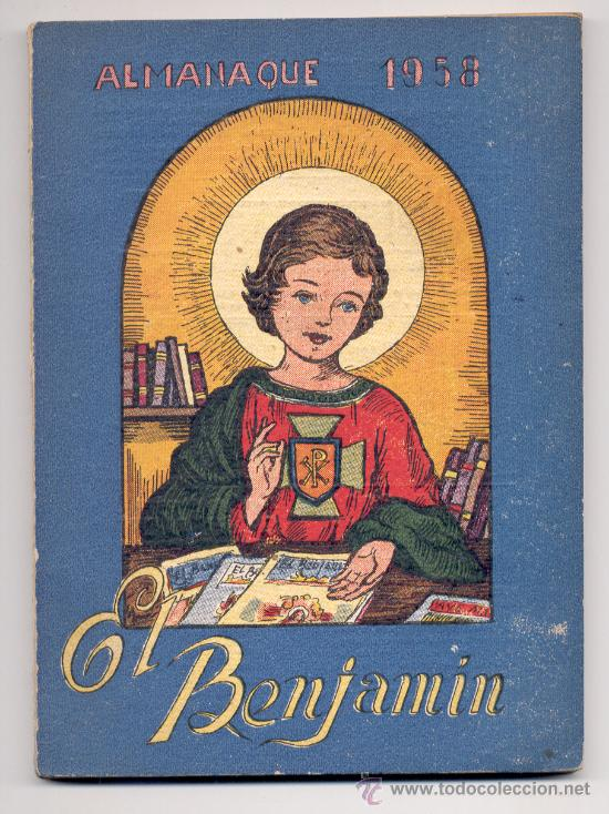Libros de segunda mano: REVISTA EL BENJAMÍN - ALMANAQUE PARA EL AÑO 1958. - Foto 1 - 18173929