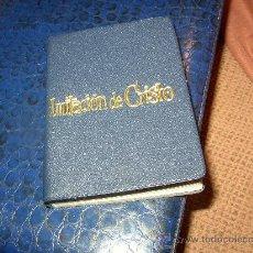 Libros de segunda mano: TOMÁS KEMPIS. LA IMITACIÓN DE CRISTO. MINIATURA. 1963.. Lote 21446840