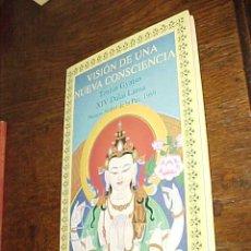 Libros de segunda mano: VISION DE UNA NUEVA CONSCIENCIA. TENZIN GYATSO XIV DALAI LAMA. . Lote 20120123