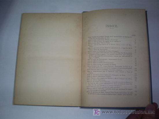 Libros de segunda mano: Cartas Pastorales Reunidas y publicadas para mayor utilidad provecho del clero fieles 1889 RM45712-V - Foto 5 - 26942751