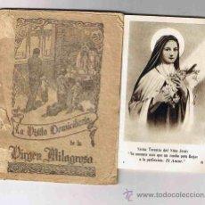 Libros de segunda mano: LA VISITA DOMICILIARIA DE LA VIRGEN MILAGROSA. Lote 26930437