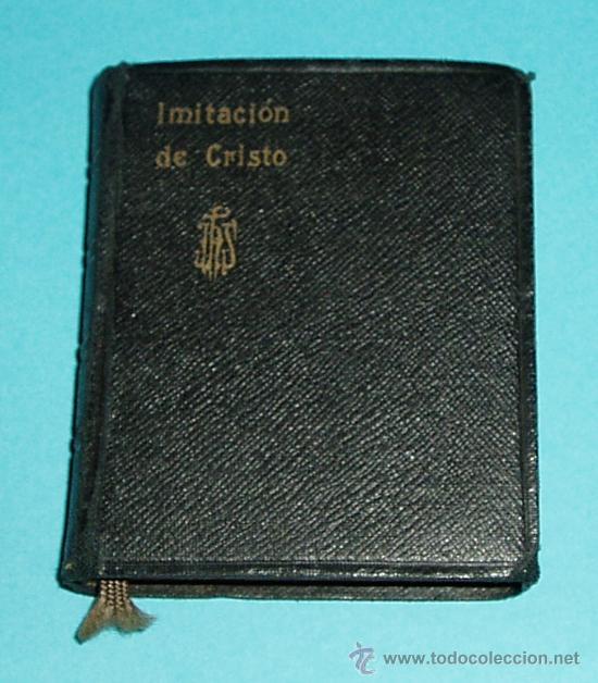 DE LA IMITACIÓN DE CRISTO Y MENOSPRECIO DEL MUNDO. TOMÁS DE KEMPIS. TRAD. P. J. E. NIEREMBERG ( L06 (Libros de Segunda Mano - Religión)