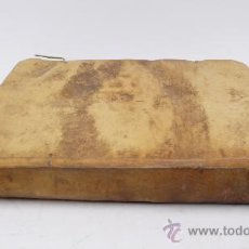 Libros de segunda mano: CATECHISMUS CONCILII TRIDENTINI (...) CLEMENTIS XIII, JUSSU EDITUS. BARCINONE 1767. 21X16 CM.. Lote 25365041
