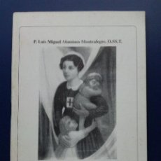 Libros de segunda mano: ISABEL CANORI MORA - MADRE DE FAMILIA Y TERCIARIA TRINITARIA - P. LUIS MIGUEL ALAMINOS MONTEALEGRE. Lote 25560815