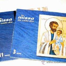 Libros de segunda mano: LA MISSA DE CADA DÍA EN CATALÁN MES 3 - Y 11. Lote 25935800