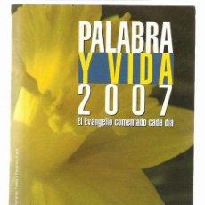 Libros de segunda mano: PALABRA Y VIDA * MISIONEROS CLARETIANOS * ORACIONES *. Lote 27798879
