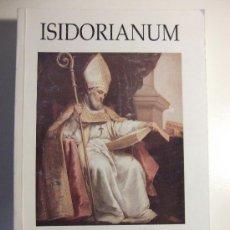 Libros de segunda mano: ISIDORIANUM. REVISTA DEL CENTRO DE ESTUDIOS TEOLOGICOS DE SEVILLA. Nº 21-22. AÑO 2002. Lote 27844765