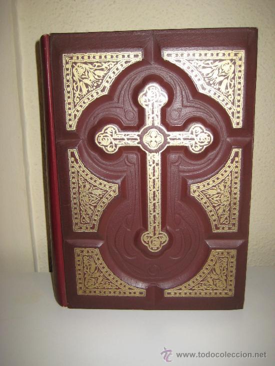 ANTIGUA SAGRADA BIBLIA AÑO 1953 ILUSTRACIONES DE GUSTAVO DORE. (Libros de Segunda Mano - Religión)