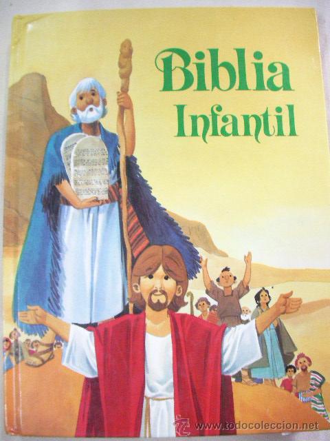 BIBLIA INFANTIL - ENVIO GRATIS A ESPAÑA (Libros de Segunda Mano - Religión)