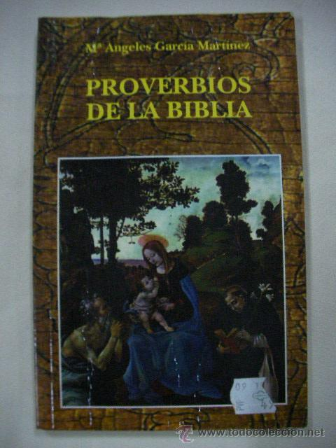 PROVERBIOS DE LA BIBLIA DE Mª ANGELES GARCIA MARTINEZ (Libros de Segunda Mano - Religión)