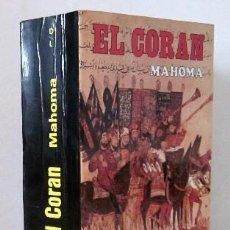 Libros de segunda mano: EL CORAN - EL LIBRO SAGRADO DEL ISLAM. Lote 28302816