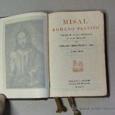 Livros em segunda mão: MISAL ROMANO FESTIVO . Lote 28453245
