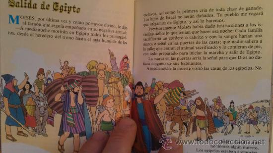 Libros de segunda mano: MINI BIBLIA INFANTIL.(EDITORIAL:ALFREDOORTELLS) - Foto 2 - 29095348