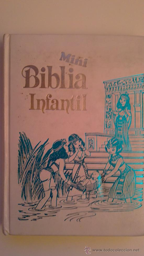 MINI BIBLIA INFANTIL.(EDITORIAL:ALFREDOORTELLS) (Libros de Segunda Mano - Religión)
