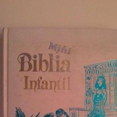 Libros de segunda mano: MINI BIBLIA INFANTIL.(EDITORIAL:ALFREDOORTELLS). Lote 29095348