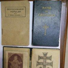 Libros de segunda mano: LOTE DE LIBRILLOS-CUADERNILLOS RELIGIOSOS. Lote 29546912