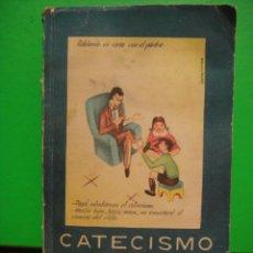 Libros de segunda mano: CATECISMO PRIMER GRADO 1958. Lote 29950291