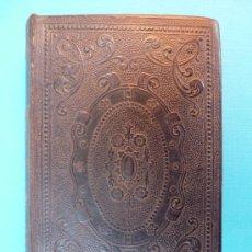 Libros de segunda mano: OFICIO DE LA SEMANA SANTA Y SEMANA DE PASCUA - LATIN CASTELLANO - 1880 - ENC. PIEL REPUJADA.. Lote 30250927