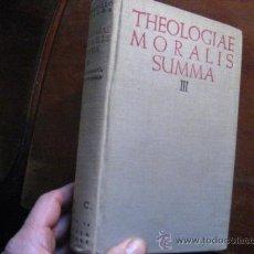 Libros de segunda mano: THEOLOGIAE MORALIS SUMMA III . 1954 BIBLIOTECA AUTORES CRISTIANOS ( RELIGION C7. Lote 30596307