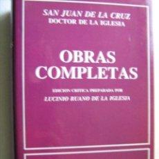 Libros de segunda mano - OBRAS COMPLETAS. SAN JUAN DE LA CRUZ. 1991. Biblioteca de autores cristianos - 30844802