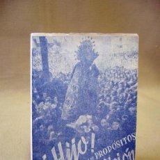 Libros de segunda mano: LIBRO, RECUERDO DE LA SANTA MISION, 1949. Lote 32101727