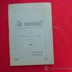 Libros de segunda mano: SE SACERDOTAL POR EL PENITENCIARIO DE LA S.I. CATEDRAL DE VITORIA 1948 L-. Lote 32123872