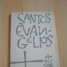 Libros de segunda mano: SANTOS EVANGELIOS. DANIEL DE SANTOS. Lote 32430382