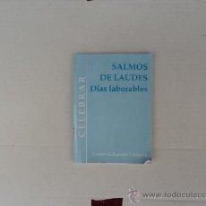 Libros de segunda mano - salmos de Laudes. Días laborables. - 32525438