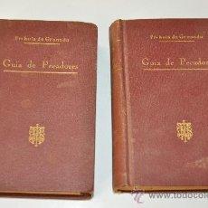 Libros de segunda mano: GUIA DE PECADORES FRAY LUIS DE GRANADA 1893 2 TOMOS. Lote 32601562