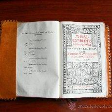 Libros de segunda mano: MISAL, COMPLETO LATINO-ESPAÑOL, POR VALENTIN M. SANCHEZ RUIZ, 6ª EDICIÓN DEL 6-11-1947, 1238 PAGINAS. Lote 32710423