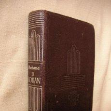 Libros de segunda mano: MAHOMA - EL KORAN - CRISOL AGUILAR - ENVIO GRATIS A ESPAÑA. Lote 32729811