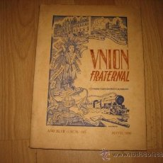 Gebrauchte Bücher - UNION FRATERNAL MAYO 1956 Nº 185 .-AÑO XLVII SEMINARIO-UNIVERSIDAD PONTIFICIA COMILLAS - 32758517
